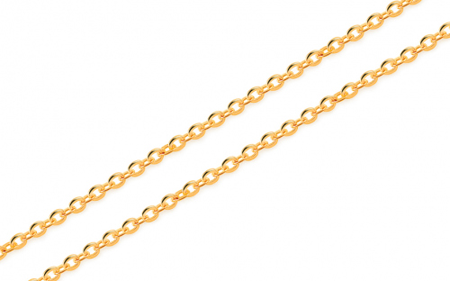 Gold chain Rolo 1 mm - IZ11954