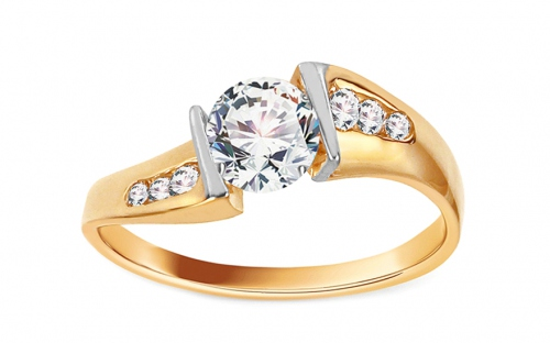 Gold Engagement Ring Isarel 12