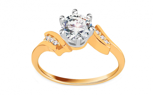 Gold Engagement Ring Isarel 19 - CSRI792