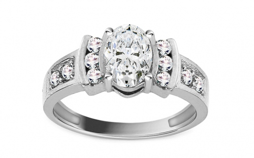 Gold Engagement Ring Isarel 21 - CSRI734A
