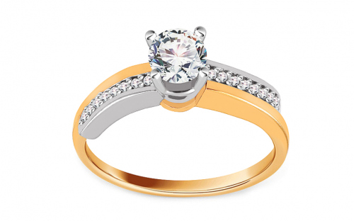 Gold Engagement Ring Isarel 22 - CSRI813