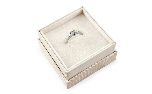 Gold Engagement Ring Magic 11 - CSRI23A - in a box