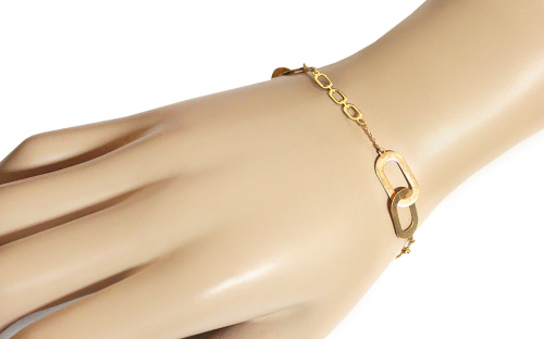 Gold ladies bracelet - IZ9519NR