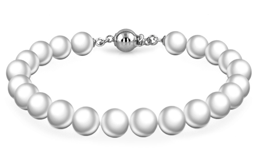 Ladies Pearls Bracelet Rose