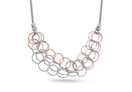 Sterling Silver Necklace with fashion design