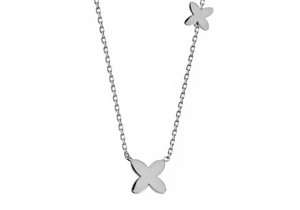 Gold Four Leaf Clover Chain