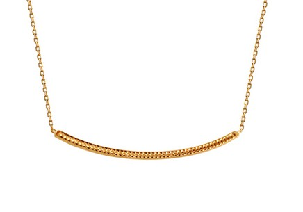 Gold necklace Bruna
