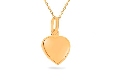 "Gold Pendant ""Heart"""