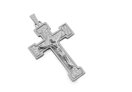 Silver  Pendant Passion for men