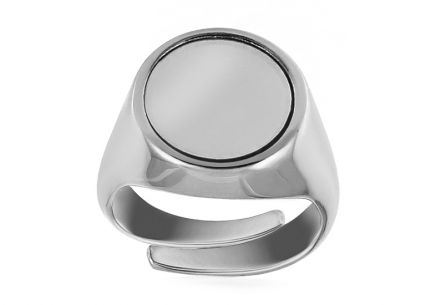 Silver ring with adjustable size