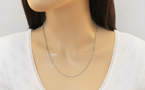 Sterling Silver chain Anker 3 mm - IS1207