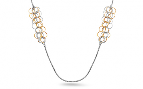 Sterling Silver Necklace fashion design - IS392