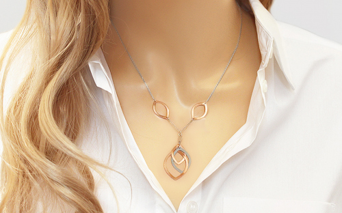 Silver Womens Necklace - IS304R