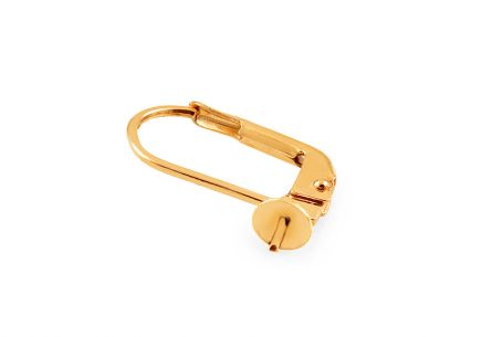 Gold ladies lever back patent
