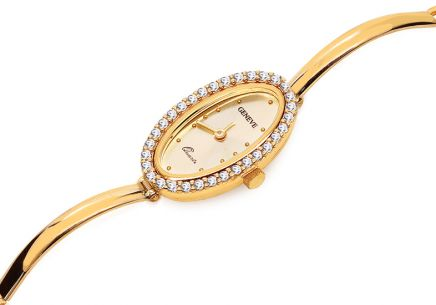 "Women's Gold Watch ""Geneve"""
