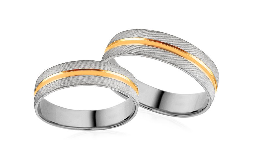 Wedding bands engraved width 5mm - RYOB228