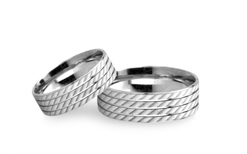 Wedding bands engraved width 5mm - RYOB217