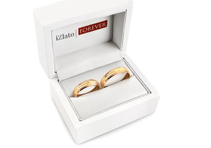 Wedding rings with stone width 5 to 6 mm