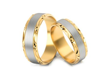Wedding rings without stones width 5 to 7 mm