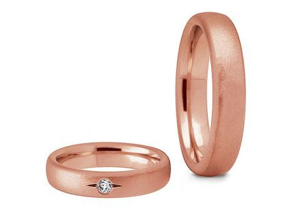 4.5mm/0.18'' Zircon Wedding Bands
