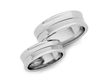 Wedding rings gold width 4 to 8 mm