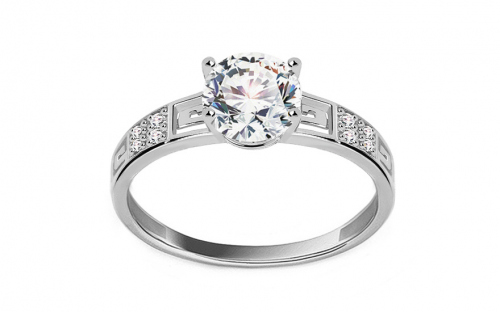 White Gold Engagement Ring Elise 2 - CS9RI1904A