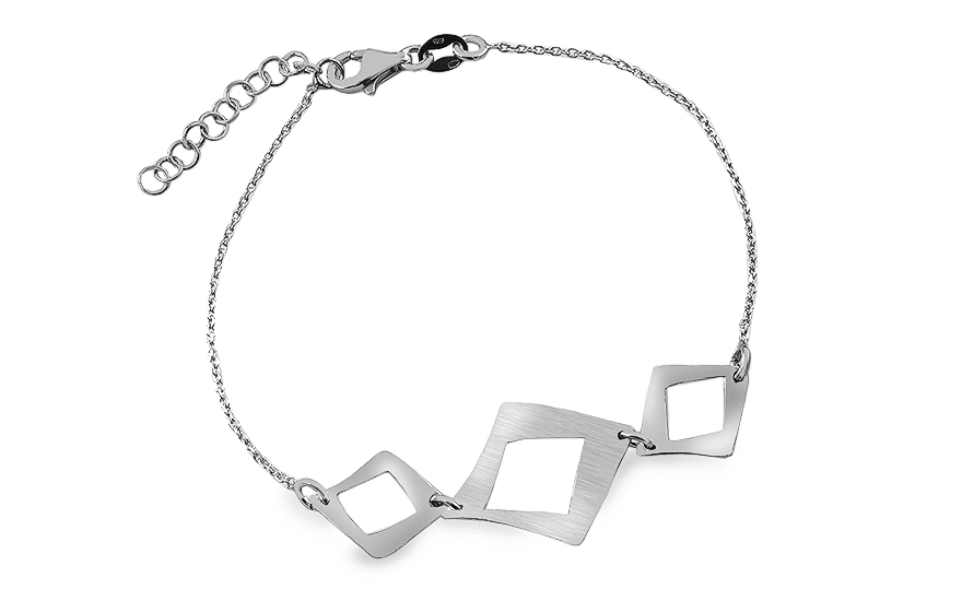 Women's silver bracelet - IS364ANR