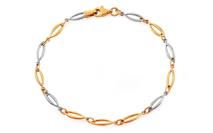 Women S Two Tone Gold Bracelet